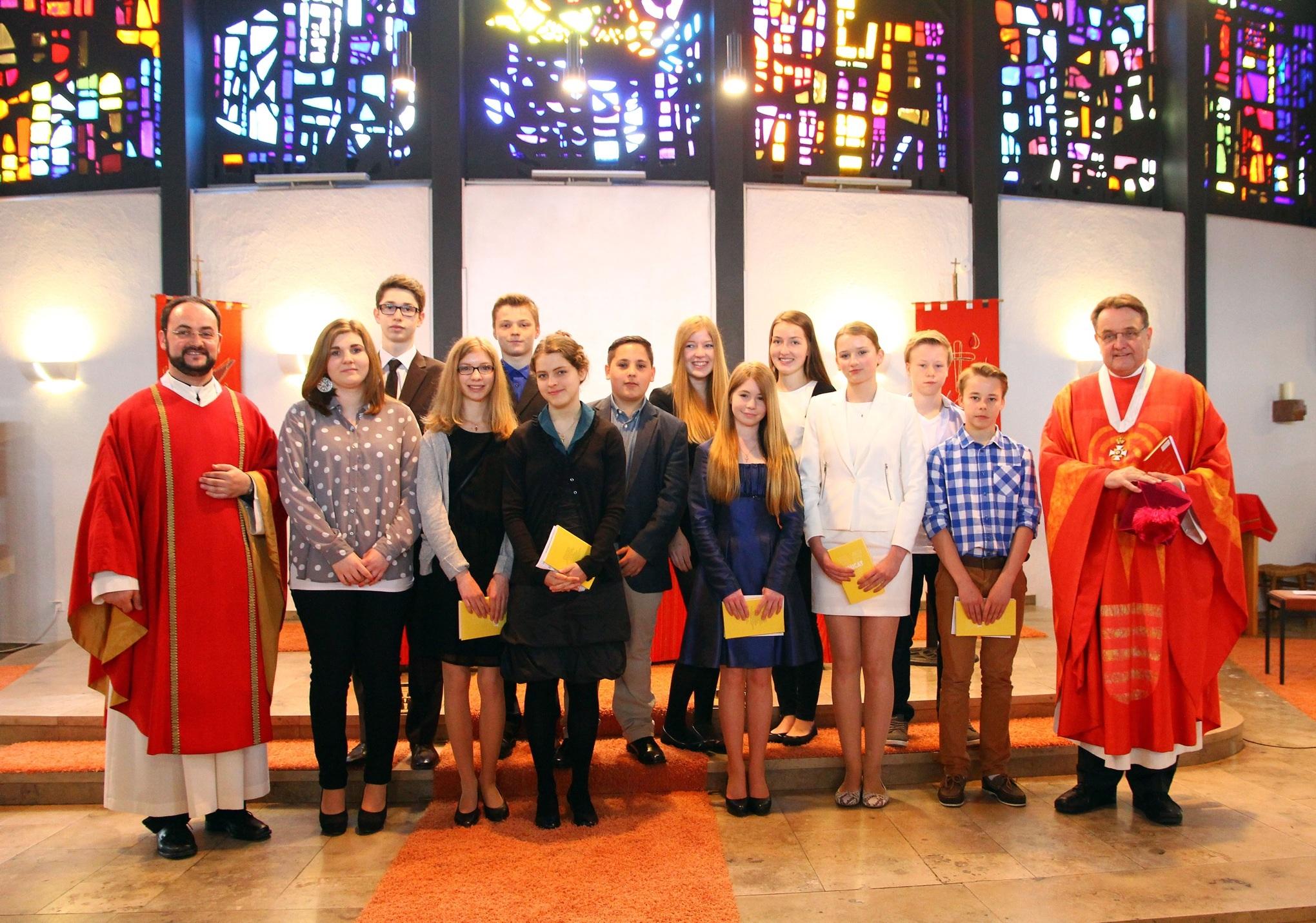 Firmung Heilig Kreuz 2013