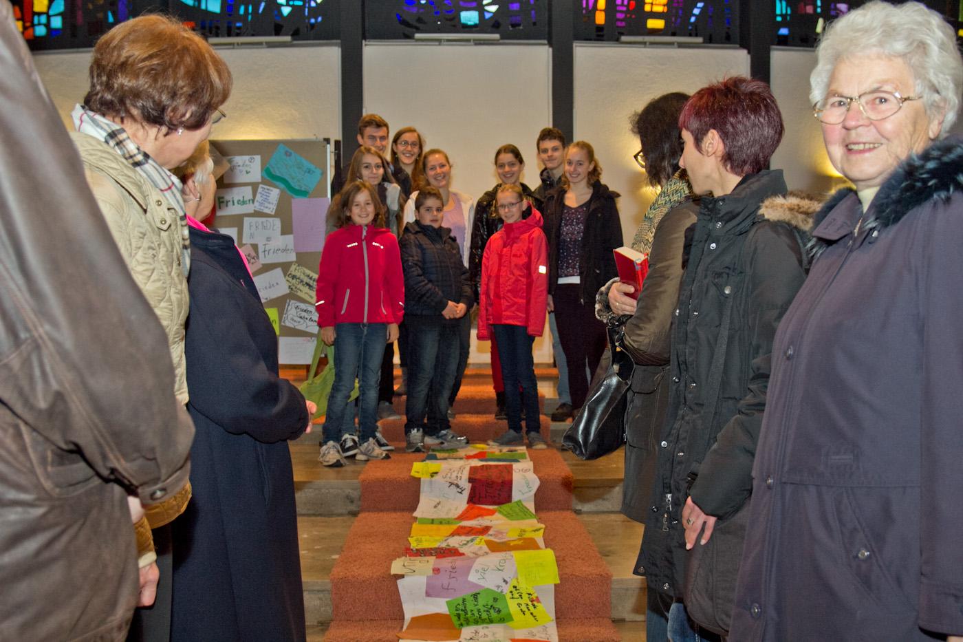 Die Ministranten der Pfarrgemeinde Heilig Kreuz in Auerbach