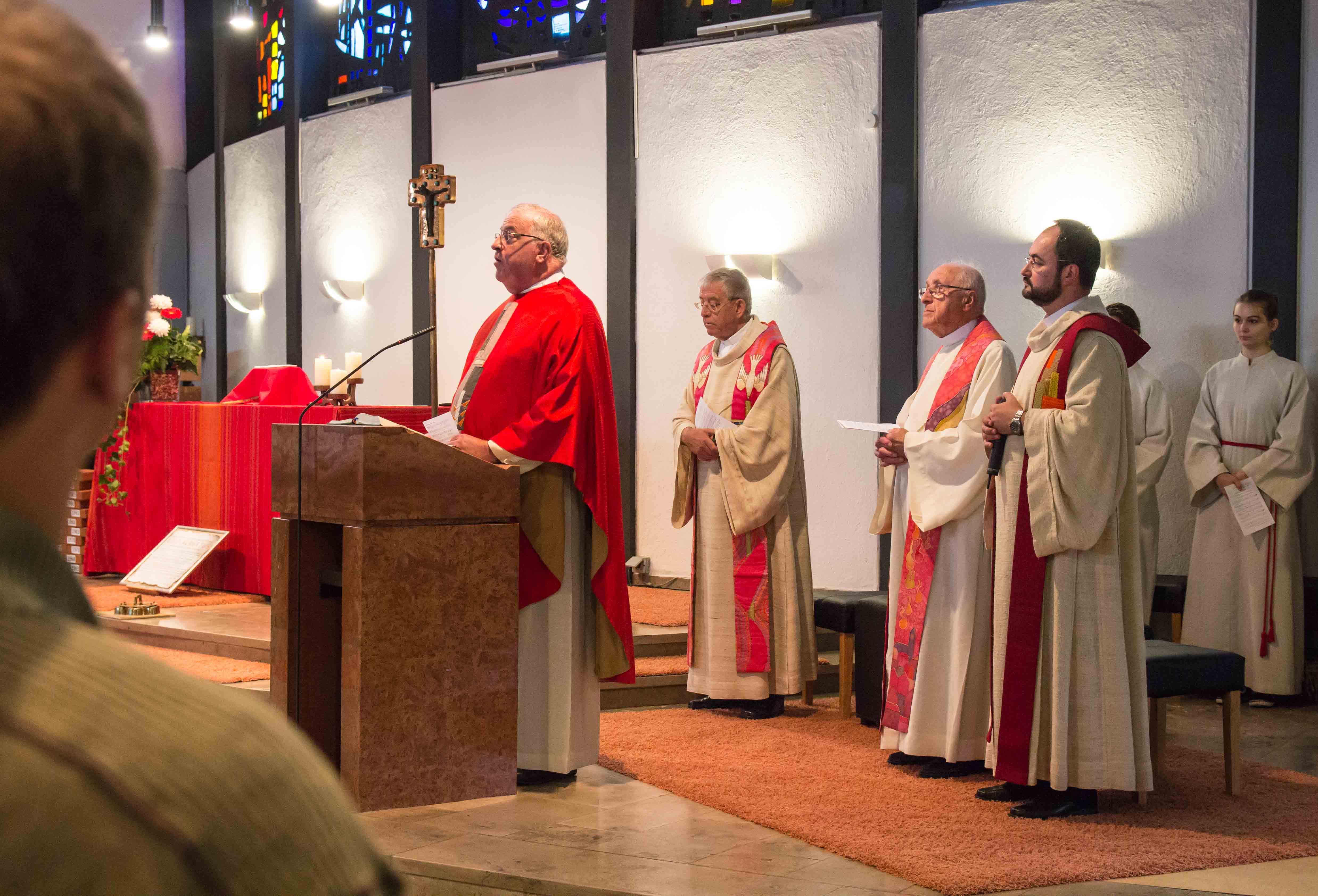 Messe zum 55jährigen Jubiläum in Heilig Kreuz Bensheim