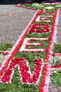 Blumenteppich 2015