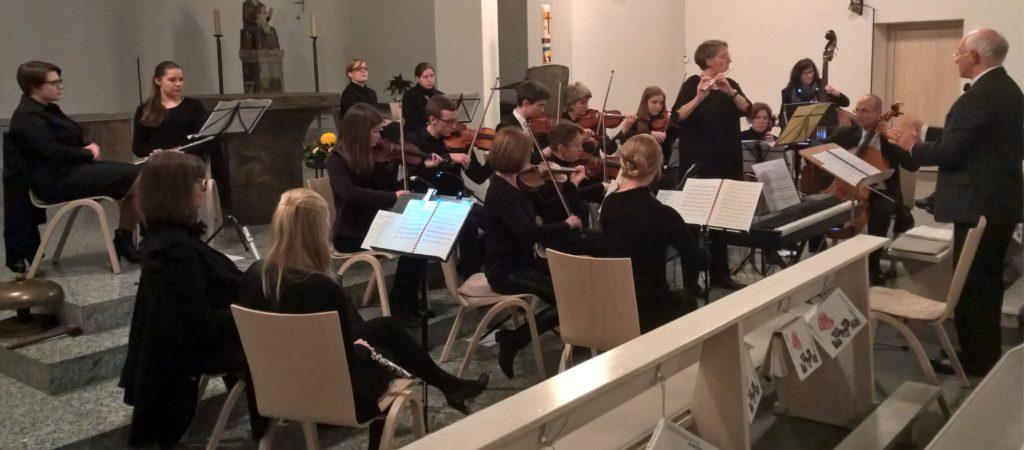 Projektorchester-Tafel