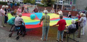 Bei Gymnastik und Bewegung in der Hl. Kreuz Gemeinde Auerbach